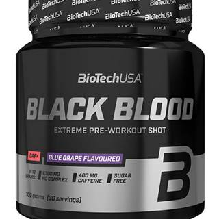 BioTech USA BioTech Black Blood Caf+ 300 g variant: čučoriedka