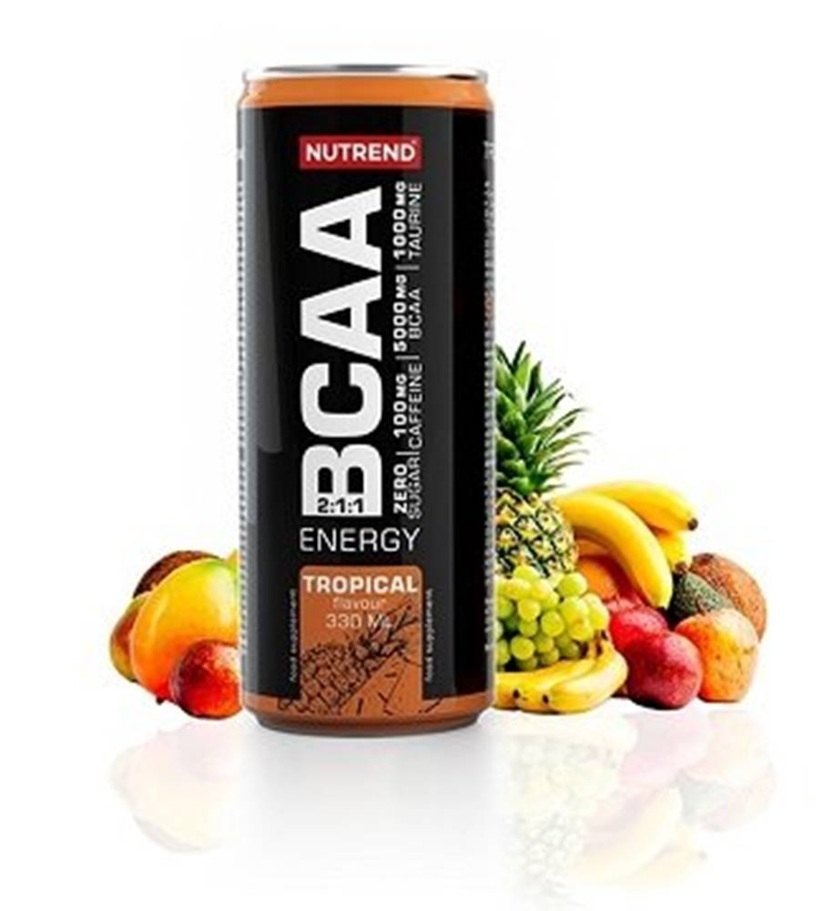 Nutrend BCAA Energy Drink - Nutrend 330 ml. Citrus+Acai