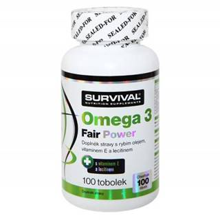 Survival Omega 3 fair power 100 tablet 100kps.