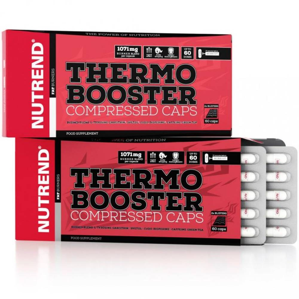 Nutrend Nutrend Thermobooster Compressed Caps 60 tbl