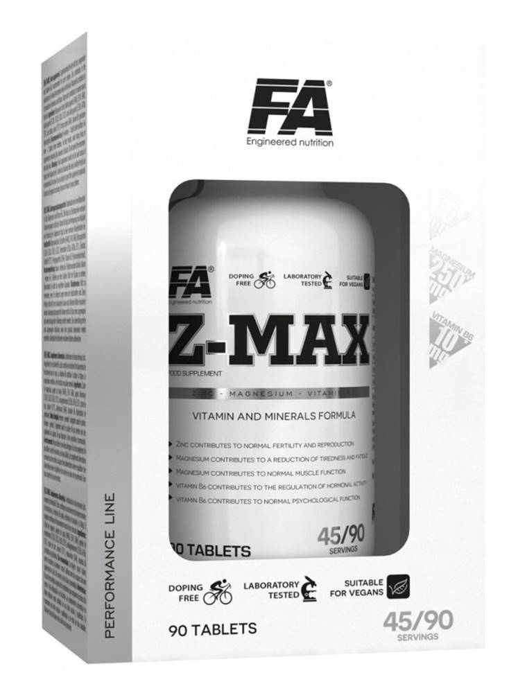 Fitness Authority Z-Max - Fitness Authority 90 tbl.