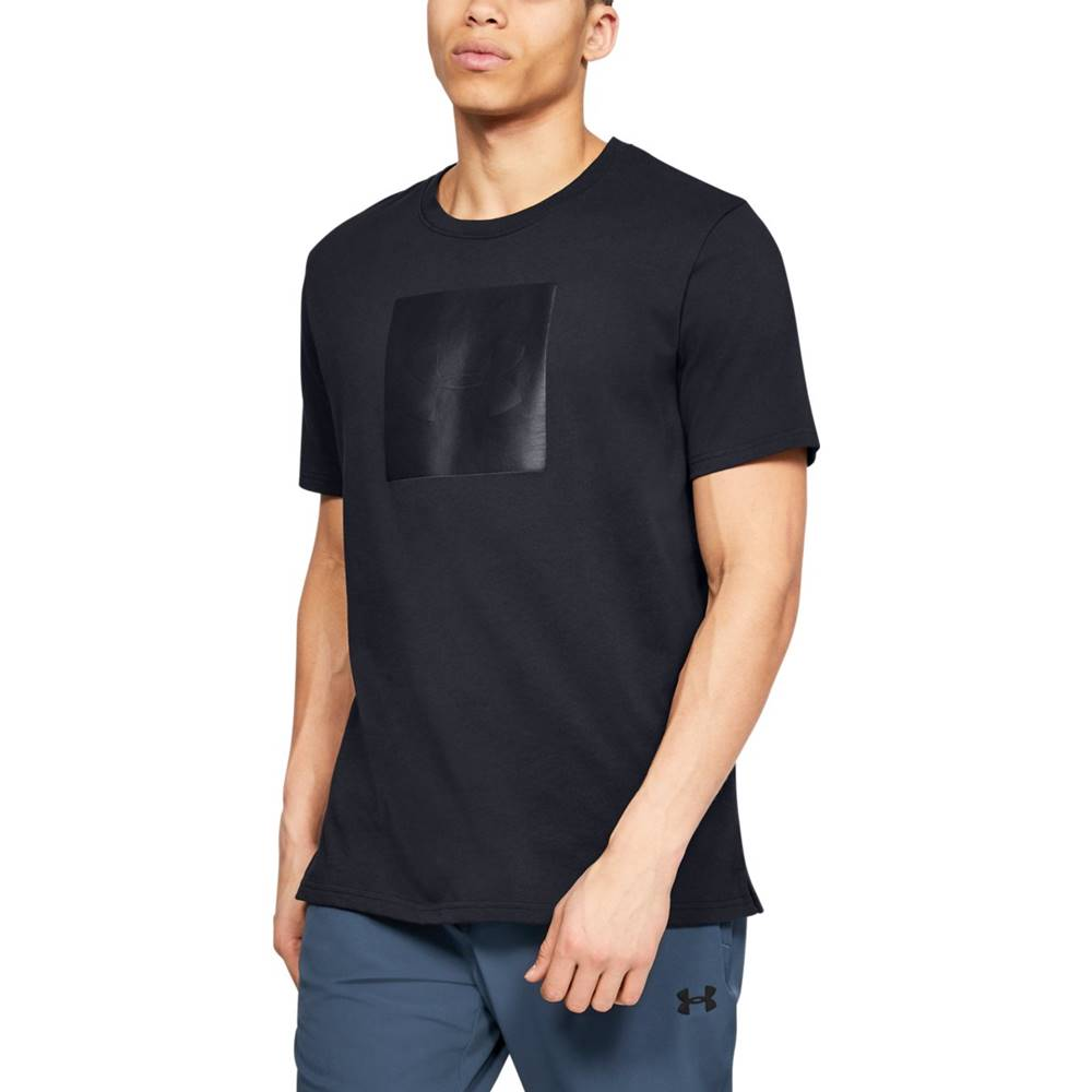 Under Armour Under Armour Tričko Unstoppable Knit Tee Black  S