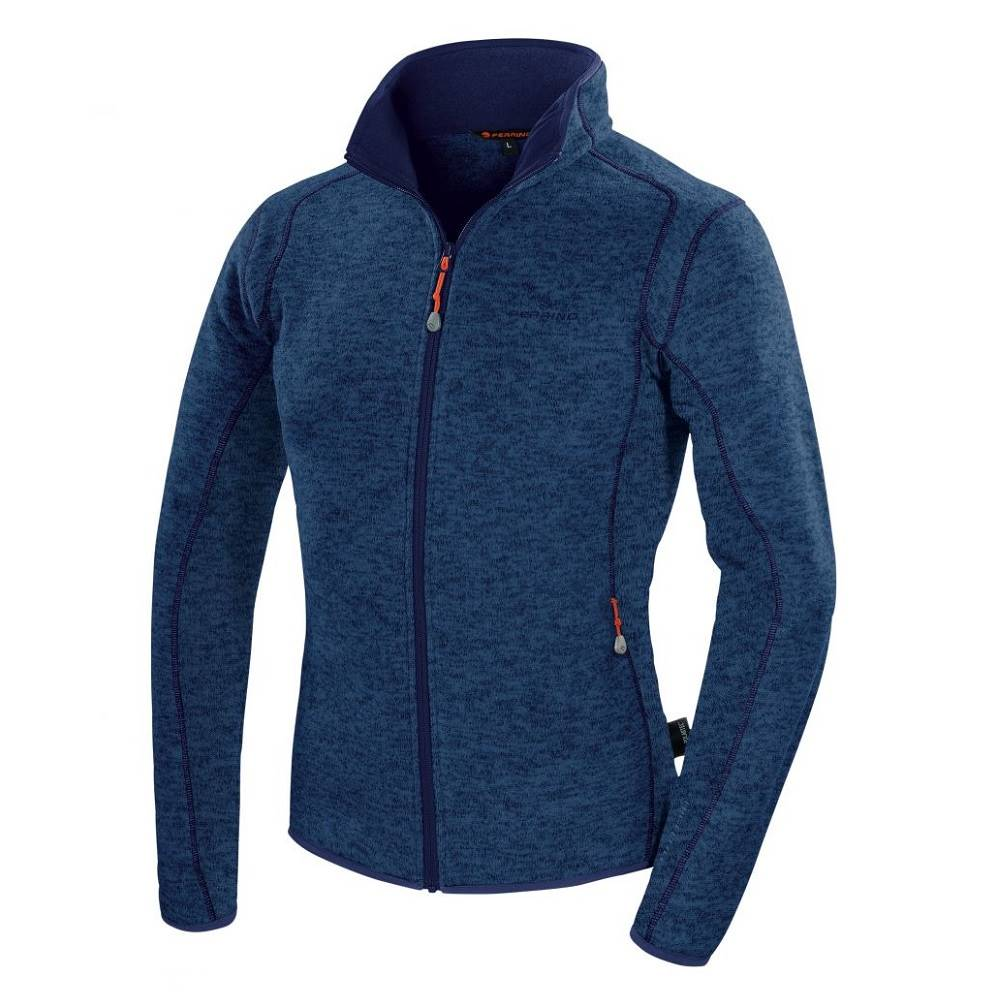 Ferrino Pánska mikina Ferrino Cheneil Jacket Man New Deep Blue - S