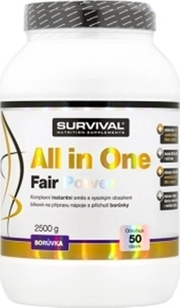 Survival Survival All in One Fair Power 2500 g variant: čučoriedka