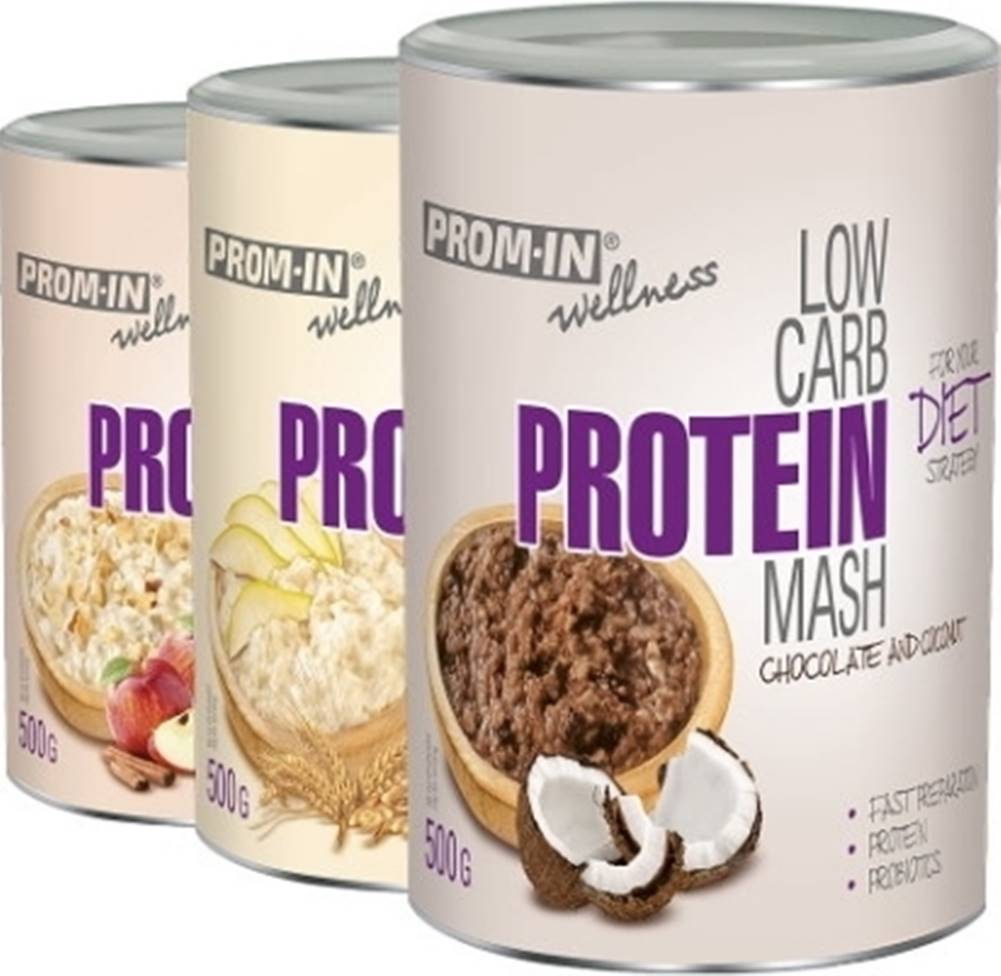 Prom-IN Prom-IN Low Carb Protein Mash 500 g variant: hruška